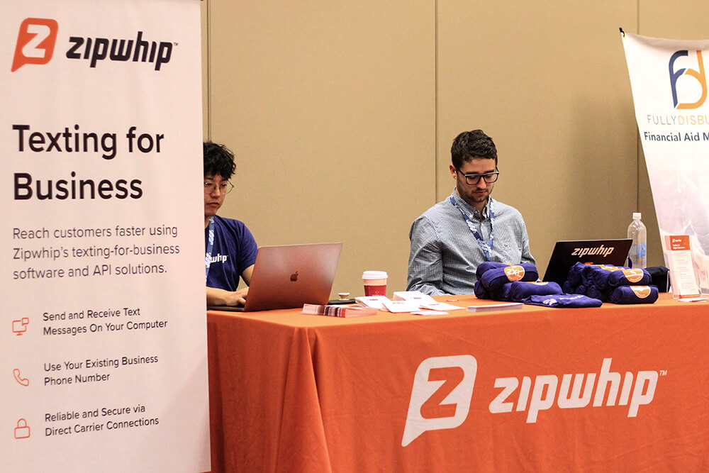 zipwhip-booth
