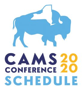 CAMS 2020 Conference Schedule